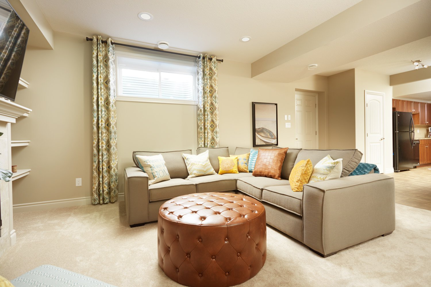 Laurel Crossing - Orion Showhome Basement
