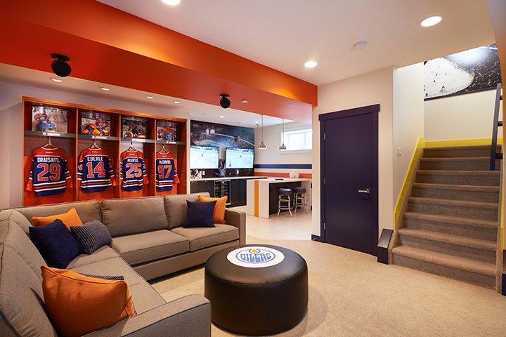 Edmonton Oilers Fan Cave